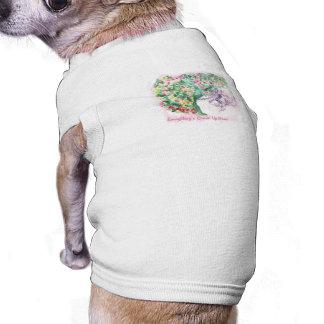 Alles ist Comin herauf Rosie Haustier-T - Shirt Ärmelfreies Hunde-Shirt
