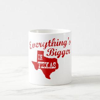 Alles ist in Texas größer Tasse