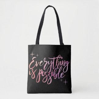 """""""Alles ist mögliche"""" Taschen-Tasche Tasche"""
