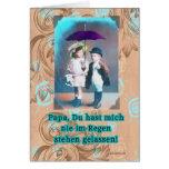 alles liebe zum Vatertag deutscher glücklicher Grußkarte