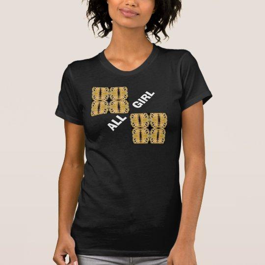 ALLES MÄDCHEN Mode-Shirt 4 sie auf Weizen u. T-Shirt