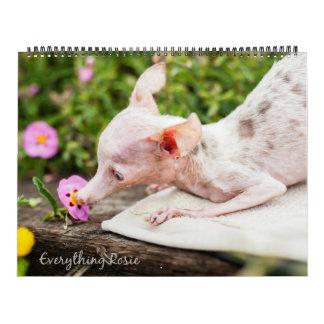 Alles Rosie Kalender