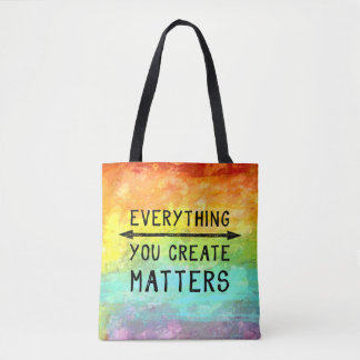 Everything You Create Matters