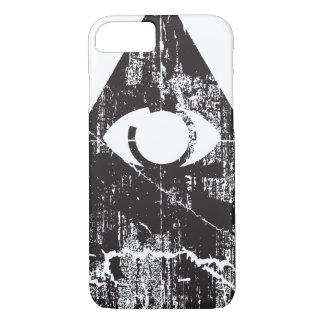Alles sehende Auge iPhone 7 Hülle