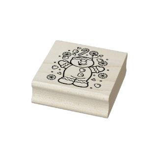 Alles süße Weihnachtsgummi-Briefmarke Gummistempel