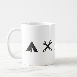 Alles Tasse des Kaffee-FJ60