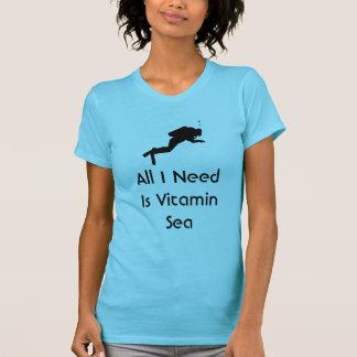 Alles Unterwasseratemgerät, das ich benötige, ist T-Shirt