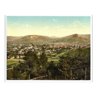Allgemeine Ansicht, Jena, Thüringen, Postkarte