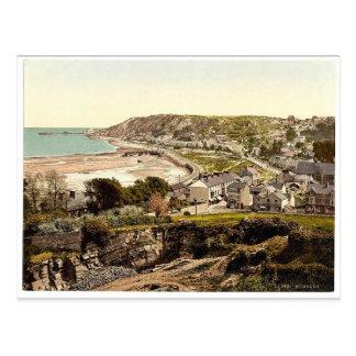 Allgemeine Ansicht, Mumbles, Wales seltenes Postkarte
