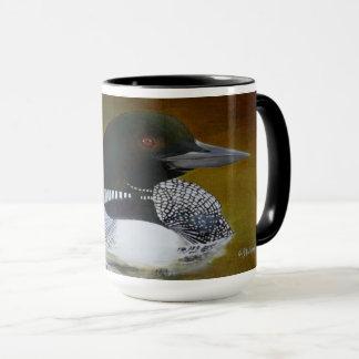 Allgemeine Loon-Kaffee-Tasse 15oz Tasse