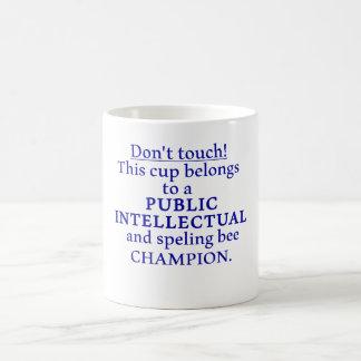 Allgemeiner Intellektueller Kaffeetasse