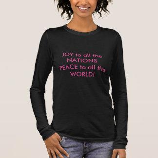Allgemeines Gebet Langarm T-Shirt