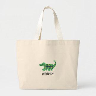 Alligator Jumbo Stoffbeutel