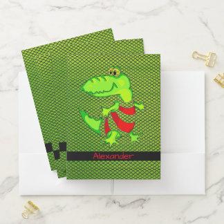 Alligator Mappe