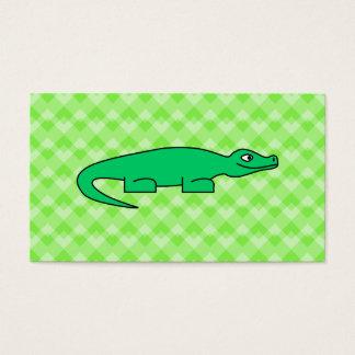 Alligator Visitenkarte