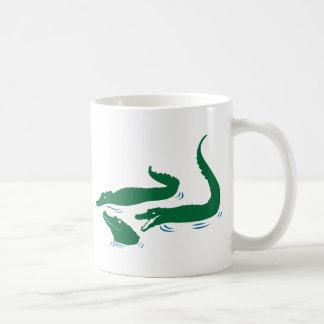 Alligatoren Kaffeetasse