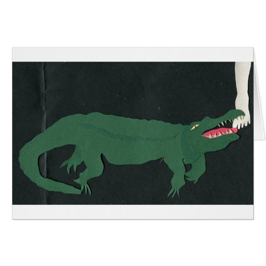 Alligatoren unter dem Bett Karte