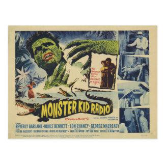 Alligatormonster von der postkarte