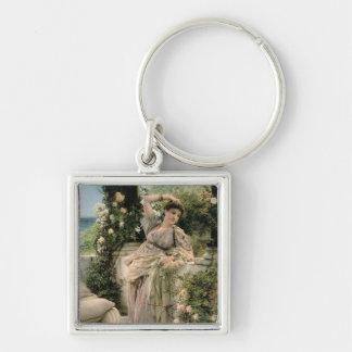 "Alma-Tadema | ""Thou-Rose aller Rosen, 1885 Schlüsselanhänger"