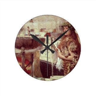Alma-Tadema | Vorbereitungen in den Colosseum, Runde Wanduhr