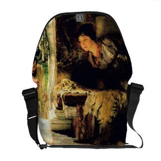 Alma-Tadema | willkommene Schritte, 1883 Kurier Tasche