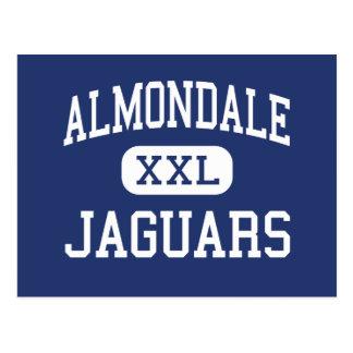 Almondale Jaguar-Mitte Littlerock Postkarte