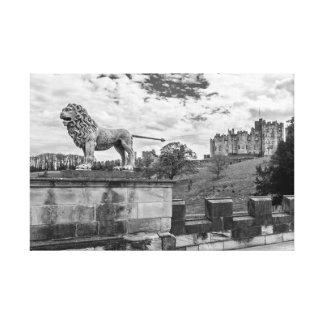 Alnwick-Schloss, Northumberland Leinwanddruck