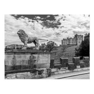 Alnwick-Schloss, Northumberland Postkarte
