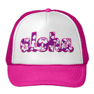 Aloha der Hut der Frauen Retromütze