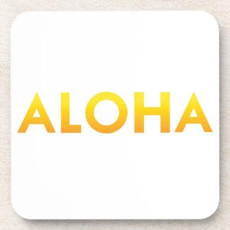 ALOHA Druck Mauis Hawaii Getränkeuntersetzer
