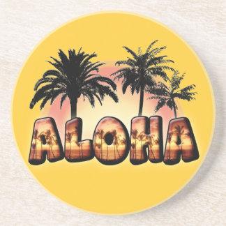 Aloha Getränkeuntersetzer