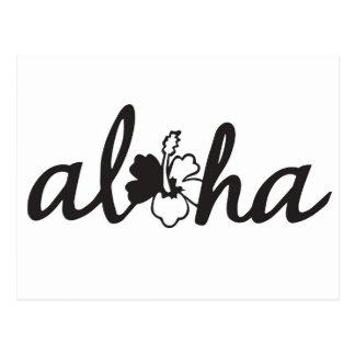 Aloha Grüße Postkarte