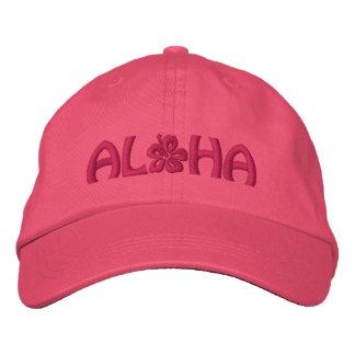 Aloha Hibiskus Bestickte Kappe