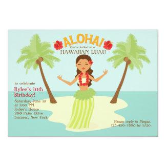 Aloha invitation de partie carton d'invitation  12,7 cm x 17,78 cm