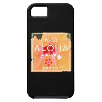 Aloha kein 50 Orangen-Hibiskus iPhone 5 Cover