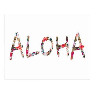 Aloha Postkarte
