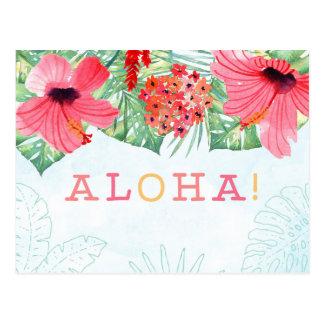 aloha Postkarte, aloha Grußkarte Postkarte