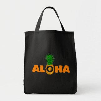Aloha sac d'impression d'ananas - épicerie