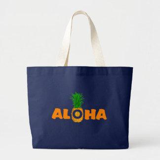 Aloha sac d'impression d'ananas - grande plage