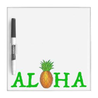 ALOHA tropische hawaiische Ananas-trockenes Trockenlöschtafel