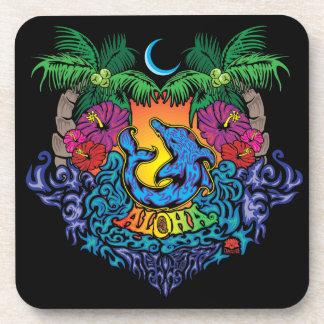Aloha Untersetzer-Set von 6 Untersetzer