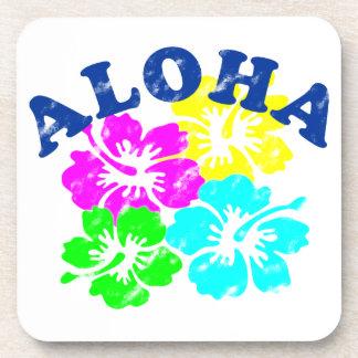 Aloha Vintage Getränkeuntersetzer