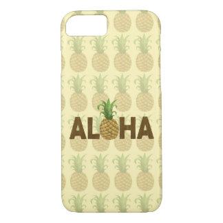 Aloha Vintager Ananas-Hawaiianer Hawaii iPhone 8/7 Hülle