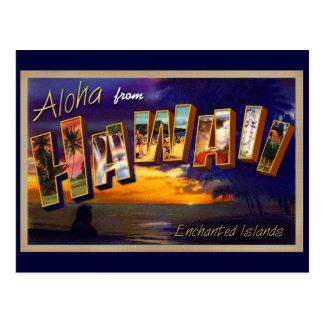 Aloha von Hawaii Postkarte