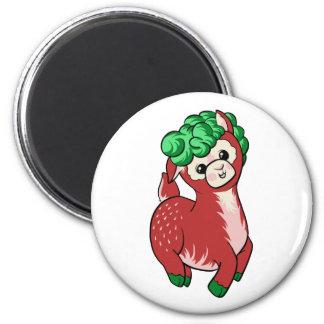 AlpacaBerry! Runder Magnet 5,7 Cm