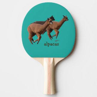 Alpaka-Klingeln Pong Paddel Tischtennis Schläger