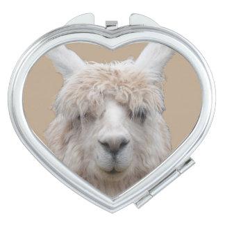Alpaka von kundengerechtem kompaktem Spiegel Perus Taschenspiegel