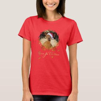 Alpaka-WeihnachtsT - Shirt