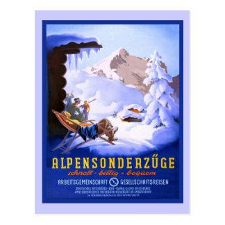 Alpensonderzuge, Deutschland Postkarte