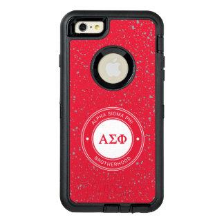 Alpha Abzeichen des Sigma-Phi-| OtterBox iPhone 6/6s Plus Hülle